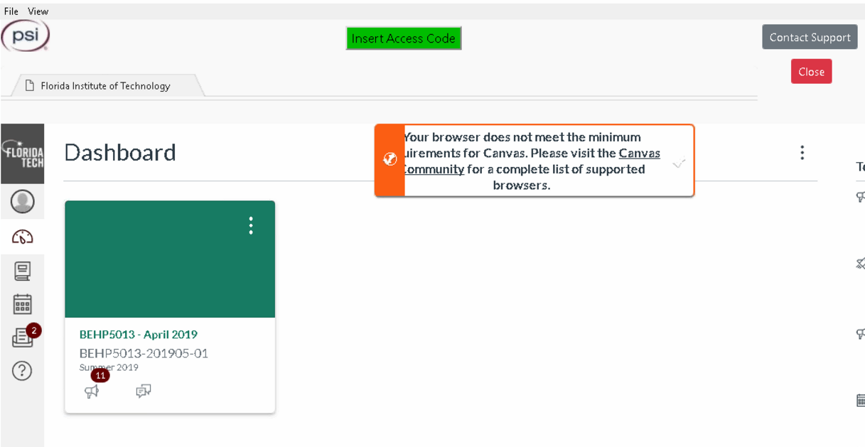 Rpnow Browser Does Not Meet The Minimum Requirements For Canvas Powered By Kayako Help Desk Software