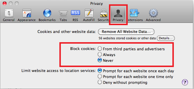 Safari-Preferences-Cookie-Setting