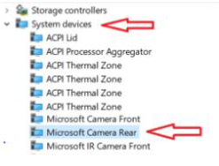 RPNow: Enable/Disable Rear Camera on Surface Pro Devices